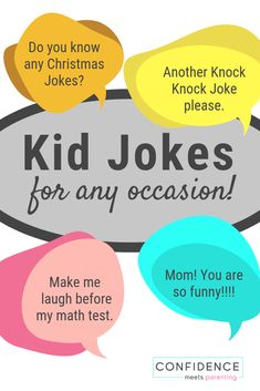 84 Good Jokes for Kids for Any Occasion Looking for some good jokes for kids? Halloween Jokes, Math Jokes, Spring Jokes and more… Making your kids laugh has never been easier. Toddler Jokes, Funny Jokes For Kids, Best Funny Jokes, Good Jokes, Toddler Stuff, Hilarious, Math Jokes, Jokes And Riddles, Autumn Activities For Kids