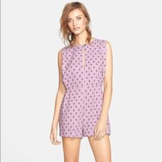 *Free People Linen Print Romper. NWT!* ...an adorable sleeveless romper with a modern tribal-geometric print, by Free People, size xs.  It has on-seam hip pockets and is made of 55% linen and 45% rayon. **fits more like a size small** Free People Dresses