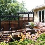 1000 images about new back deck ideas on pinterest hot for Raised ranch deck ideas