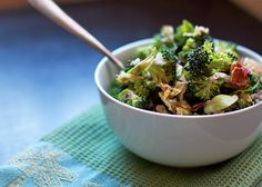 Broccoli and Brussels Sprouts Slaw Check more at https://healthiestfoodchoice.com/broccoli-and-brussels-sprouts-slaw/