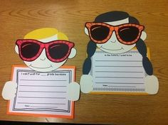 Our Future Is So Bright...Adorable idea for an end of the year OR beginning of the year bulletin board.Includes templates, writing prompt pages and bulletin board letters.$