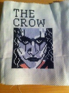 the crow xstitch