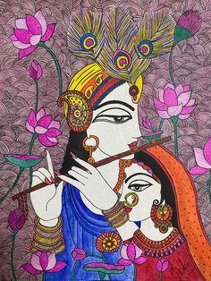 Madhubani Paintings Peacock, Kalamkari Painting, Madhubani Art, Indian Art Paintings, Small Canvas Art, Diy Canvas Art, Indian Traditional Paintings, Rajasthani Art, Indian Folk Art