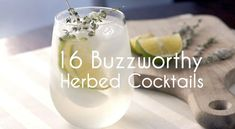 Warm weather brings out the bubbles, citrus and herbs in cocktails. Here are a few recipes we enjoy that use all sorts of different herbs.