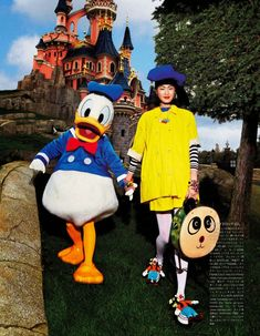 """""""A Playful Sense of Wonder"""" Georgia May Jagger and Chihara by Giampaolo Sgura for Vogue Japan April 2014 Fashion Tape, Moda Fashion, Georgia May Jagger, Vogue Editorial, Anna Dello Russo, Vogue Japan, Living Dolls, Disneyland Paris, Disney Style"""