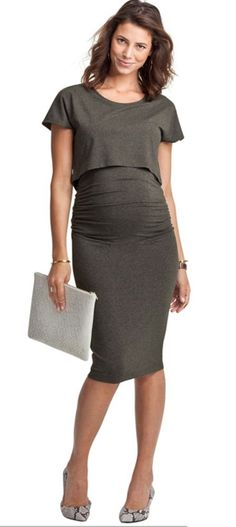 a544c1ef141 It s business as usual even when we are pregnant. Right ladies  Maternity  Work Clothes