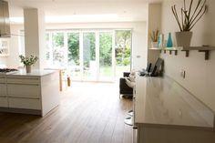 Kitchen Dining Room Knock Through Open Plan Layout