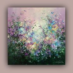 Tread Softly Acrylic on canvas, cm Black Canvas Art, Black Canvas Paintings, Mini Canvas Art, Acrylic Painting Inspiration, Acrylic Painting Flowers, Acrylic Artwork, Arte Floral, Flower Art, Landscape Paintings
