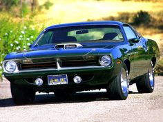 Plymouth Barracuda | ... World: 1970 Plymouth HEMI Cuda-The Most Viewed Muscle Car-In this blog
