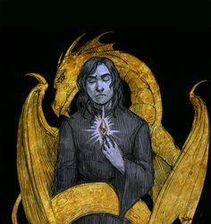 character, fantasy, illustration, game, tes, the elder scrolls, oblivion, martin septim, akatosh, amulet of kings