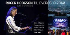 June 19, 2014 Oslo, NORWAY - With Band. OverOslo Festival at Scene Grefsenkollen Tickets go on sale November 20 through http://www.billettservice.no/. For additional information - http://www.overoslo.no/