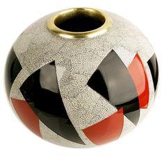 Jean Dunand Ceramic Painting, Ceramic Art, Art Deco Decor, Wall Decor, Line Patterns, Man Stuff, Furnitures, Art Deco Fashion, Sculpture Art
