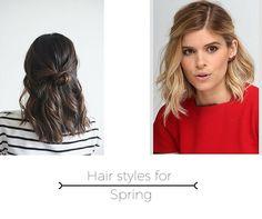 All about fashion: Peinados para Spring