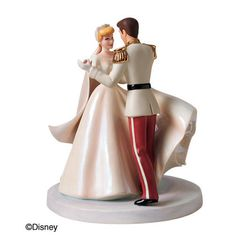 Cinderella and Prince Wedding Cake Topper