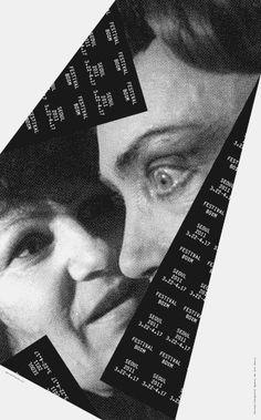 Festival Bo:m 2011, poster series – Sulki & Min #identity #poster #typographic #monocromatic