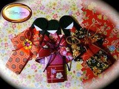 How to Make a Japanese Paper Doll: Anne Cox (Demonstration) - YouTube