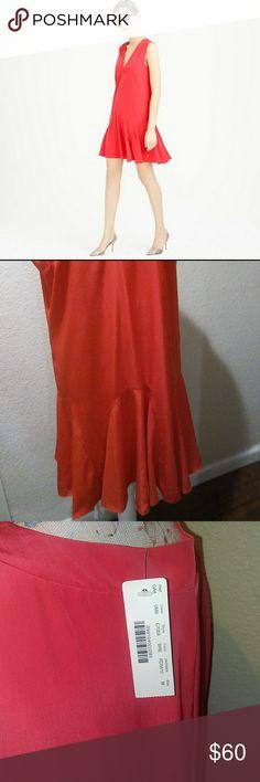 NEW J. CREW FLOUNCE DRESS SIZE M Long torso dress Ruffle bottom Size M 🌟NEW WITH TAGS J. Crew Dresses