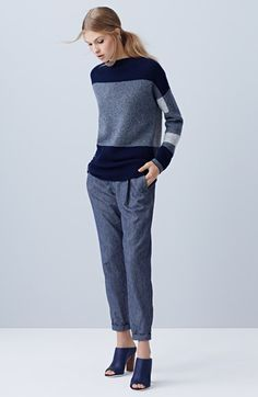 loving this tonal blue look - from nordstrom