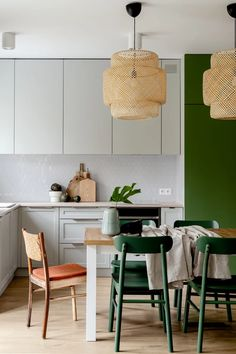 Scandinavian Style Home, Scandi Home, Wabi Sabi, Ikea, New Homes, Dining Room, Modern, Kitchen, Table