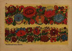 Hungarian Matyó embroidery pattern