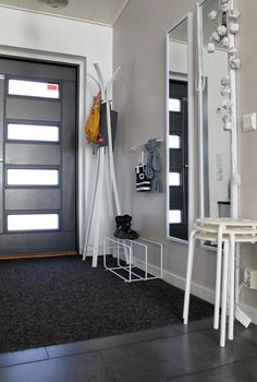 Wardrobe Rack, Entrance, Sweet Home, Entryway, Interior Design, Inspiration, Bed, Room, House