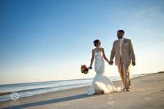 A dreamy beach wedding at The Cloister resort, Atlanta, Georgia. #beachwedding #destinationwedding #thecloister #georgiawedding #weddingflorida