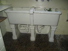 Laundry Trough Ceramic : We, Stone sink and Laundry rooms on Pinterest