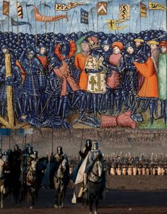 According to contemporary chronicles, in November 1177, Saladin invades the Kingdom of Jerusalem from the south and marches on Ascalon. King Baldwin IV rides with 376 knights to relieve Ascalon and is immediately trapped in the city by the overwhelming numbers of the enemy. When the King realizes, however, that Saladin has taken the bulk of his army farther north, apparently heading for Jerusalem itself, he sorties out of Ascalon and joins forces with the Templars from Gaza.