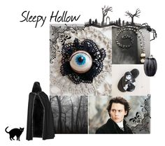 """""""Sleepy Hallow"""" by pupillae ❤ liked on Polyvore featuring art"""