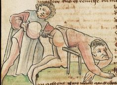 """""""Medieval Constipation?"""" Medical Journal in German, 15th c, Cod. Sang. 760, f.120. Online: http://www.e-codices.unifr.ch/en/csg/0760/120"""