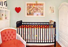 Daphne's Glamorous Nursery Nursery Tour   Apartment Therapy