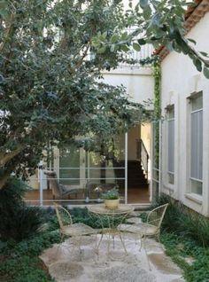 פינת קפה Garden Design, House Design, Garden Floor, Backyard, Patio, Outdoor Living, Outdoor Decor, House Entrance, My Dream Home