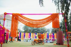 Picture from Pallavi & Ayush Photo Gallery on WedMeGood. Browse more such photos & get inspiration for your wedding Flower Decorations, Wedding Decorations, Mehndi Decor, Mehendi, Wedding Stage, Some Ideas, Minimalist Wedding, Marigold, Things To Come