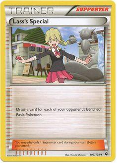 Lass's Special 103/124 Pokemon TCG: XY Fates Collide Pokemon Card