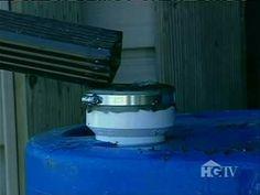 Rain water Collection Tank for garden