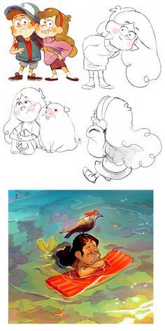 Gravity Falls by Barukurii on deviantART