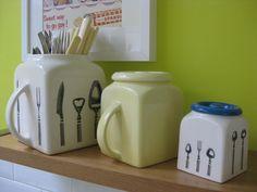 Deco, Kettle, Kitchen Appliances, Kitchens, Pottery, Mugs, Tableware, Sweet, Bristol