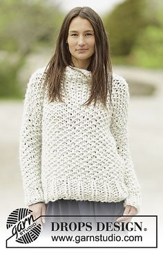 Ravelry: 0-1187 Snow Storm Jumper pattern by DROPS design