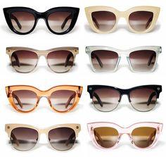 Ellery et Graz Australian-designed sunglasses from the Fall 2012 collection