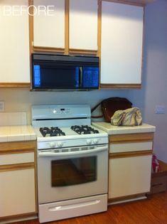 laminate kitchen cabinet makeover