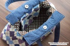 Good Tutorials, Japanese Patterns, Pouch, Wallet, Fabric Bags, Diy Tutorial, Diy And Crafts, Sewing Projects, Purses