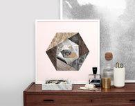 Kristina Krogh limited edition 'Kaleidoscope' art print