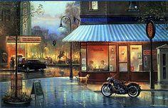 Artist George Kovach...american classic