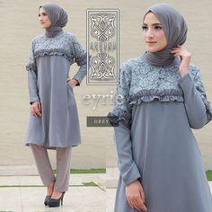 Baju Original Zavora Tunik Balotely Pakaian Cewek Atasan Wanita Muslim  Muslimah Blouse Panjang Simple Trend 2018 269e5c66d4