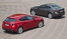 Mazda 3 Sedán y 5 puertas, dos por uno.