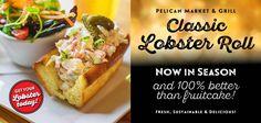 Freshest Seafood Market & Restaurant - Pelican Seafood Market and Grill Hot Dog Buns, Hot Dogs, Fresh Seafood Market, Ottawa, Grilling, Rolls, Menu, Restaurant, Menu Board Design