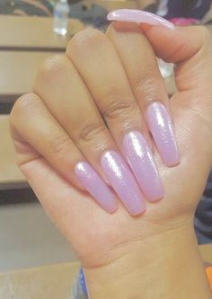 Artificial Nail Tips Analytical Magenta Pink Glitter Hand Painted False Fake Nails Long Tapered Square 112 Modern Design
