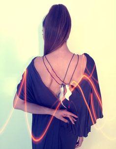Fabric Squares, Jewlery, Backless, Collection, Dresses, Fashion, Jewelry, Vestidos, Moda