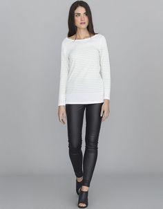 Camiseta algodón rayas 7,99
