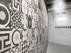 Ceramica Fioranese | #Cersaie2014 #Cementine Black&White collection, #vintage, #design